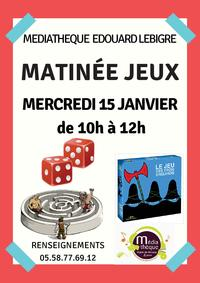 Matinee Jeux